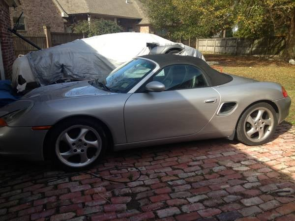 Help Me ID This Unusual Car Lurking in a Boxster CL Ad