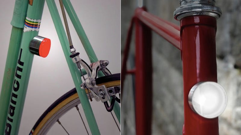 These Magnetic Bike Lights Look Super Sleek