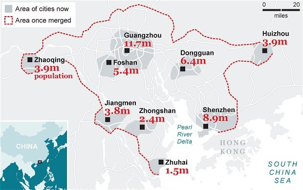 Want to Live With 42 Million People in a Megacity the Size of Switzerland?