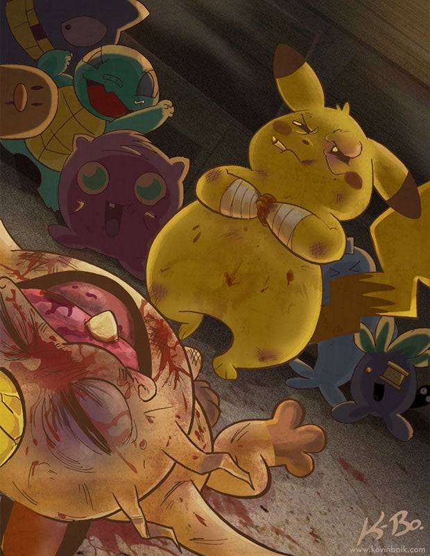 Pikachu Just Felt Like Destroying Something Beautiful