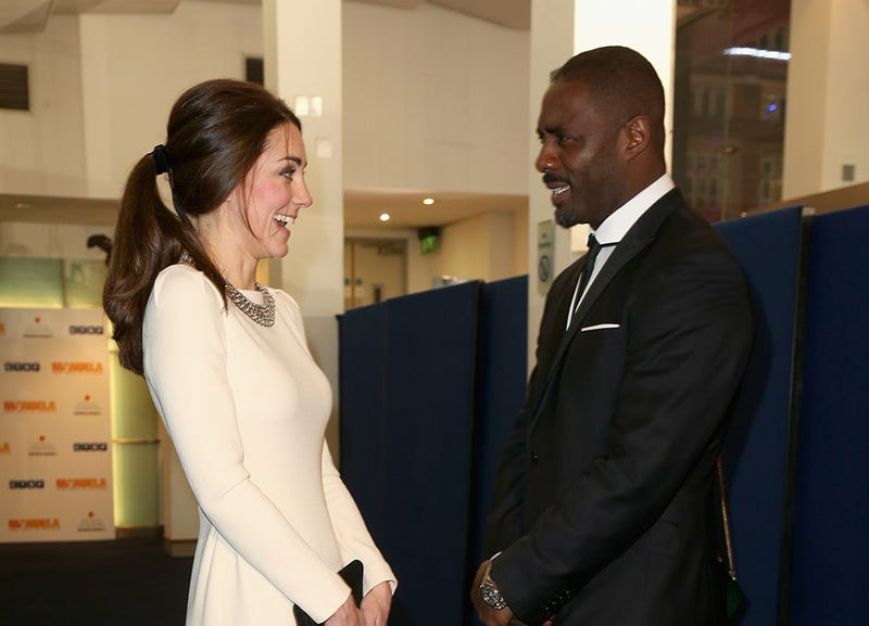 Kate Middleton Is as Giddy as You'd Be If You Met Idris Elba