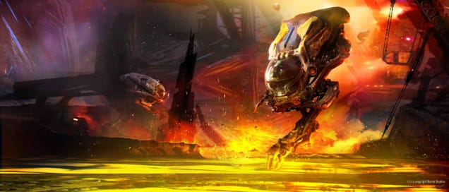 Step Inside the Mining Pods of Knowhere in This Guardians of the Galaxy
