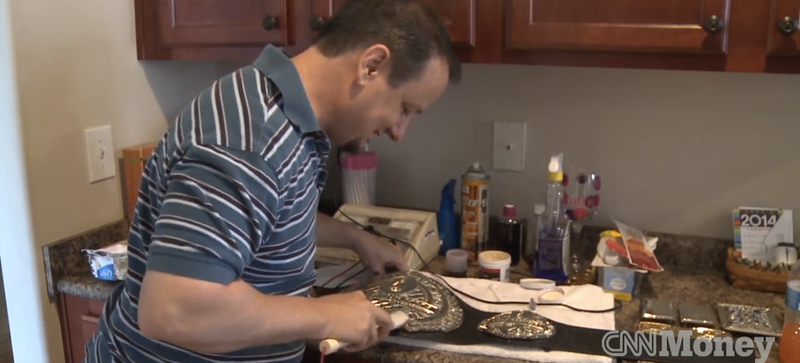 Meet the Man Who Makes WWE's Official Championship Belts in His Garage