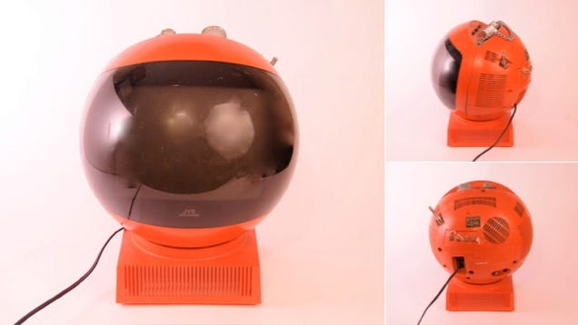 JVC Videosphere: What if Flat Panels Never Existed?