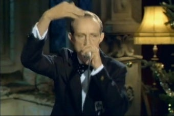 Bing Crosby Beatboxes In U.K. Ad