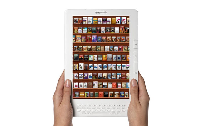 Amazon's Working on a Full-Color Multitouch Kindle With Wi-Fi
