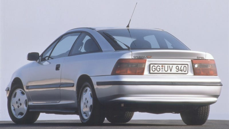How Americans Came Close To Getting The Slick Opel Calibra