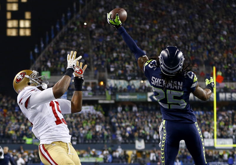 "Michael Crabtree To Richard Sherman: ""You Make One Play And You Talk?"""