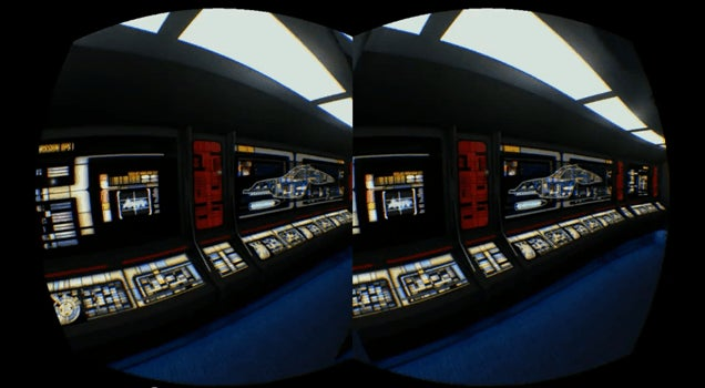 Explore Voyager's Bridge With The Oculus Rift