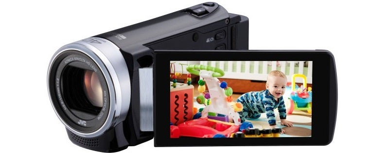 Grip a JVC GZ-E200 Full HD 1080p Camcorder for Only $100