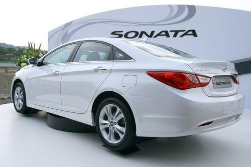 2011 Hyundai Sonata Reveal Shots