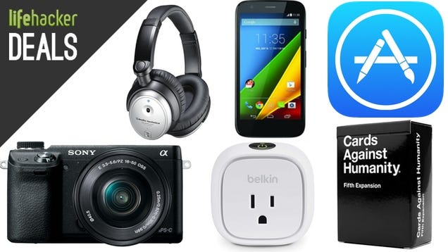 Save on iTunes Credit, LTE Unlocked Moto G, a Smarter Home [Deals]