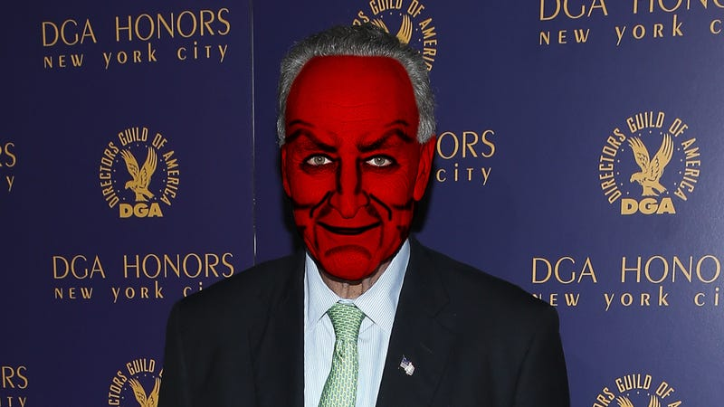 Fun-Ruining Senator Chuck Schumer Reminds Us That Children's Halloween Makeup May Contain 'Toxic Chinese Chemicals'