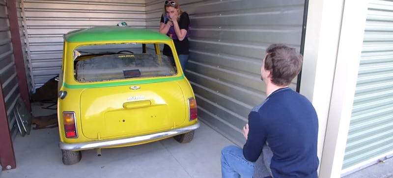 Man Buys Fiancée's Dream Car For Adorable Gearhead Proposal