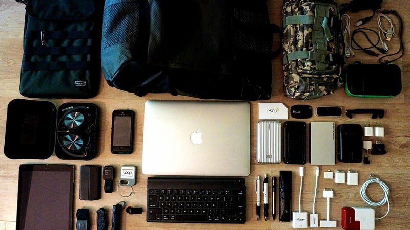 The Gadget Lovers Go Bag