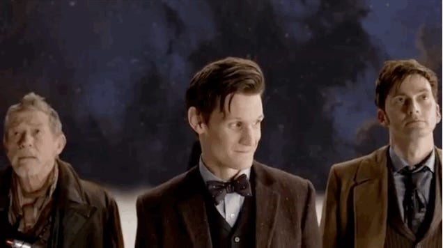 The great hero of the Doctor Who anniversary special is... John Rawls?