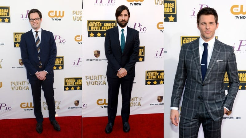 Ugly Ruffles and Bright Colors at the Critics' Choice Awards