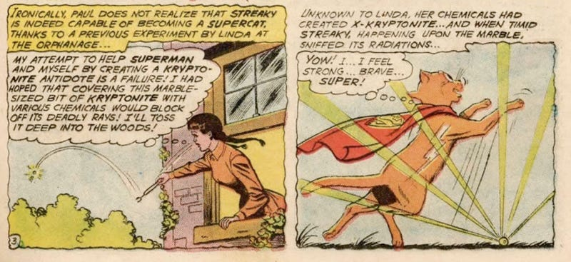 10 times Superman's pets acted like goddamn maniacs