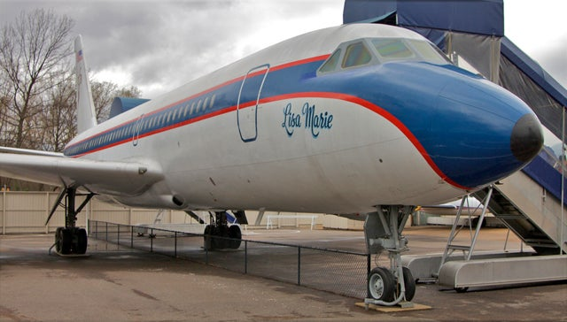 Elvis Presley Was An Aviation Geek