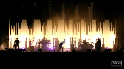 The Amazing Tech, Lasers and Lights Behind a Nine Inch Nails Concert