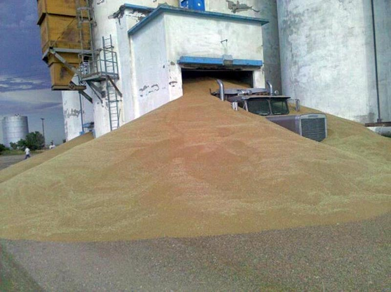 Grain Truck FAIL