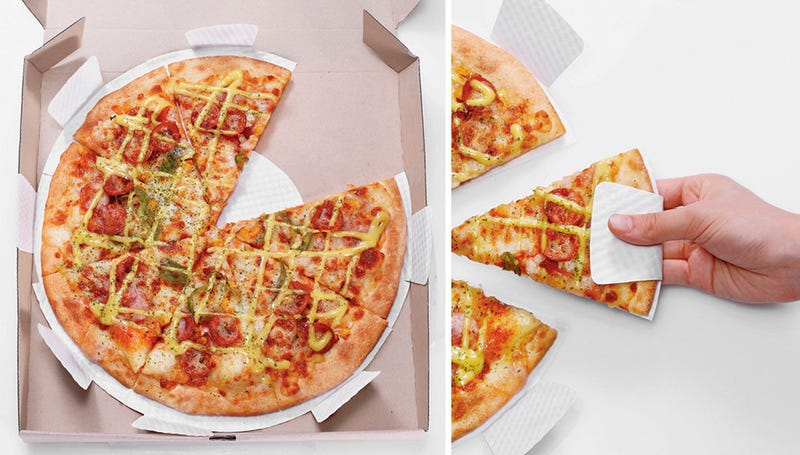Adding Mini Paper Plates To Pizza Boxes Is Unadulterated Genius