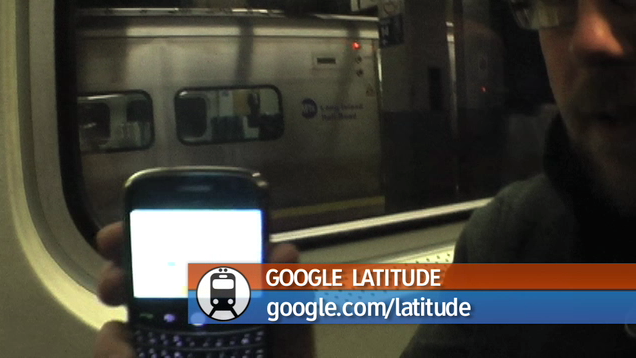 Google Latitude + Plane, Train, Automobile = DIY Amazing Race