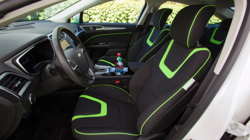 Ford Thinks You Should Sit On Plastic Coke Bottles In Your Hybrid