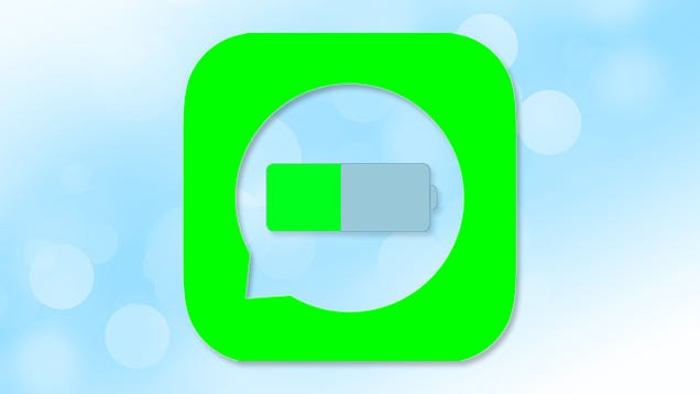 Messaging Apps Could Be Killing Your Smartphone's Battery