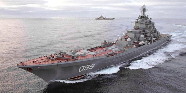 Russia's Kirov Class Battle Cruiser Is Giant, Mean, And Armed To Hell