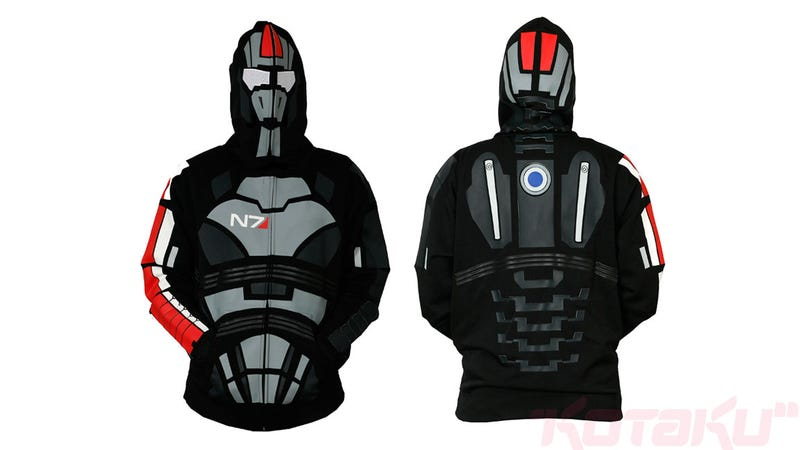 I'm Commander Shepard, And Now You Can Dress Just Like Me