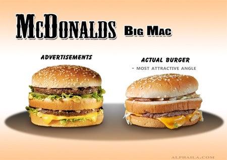 Ads v. Fast Food