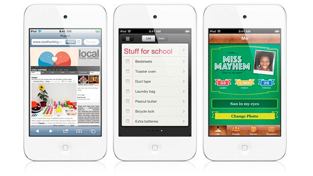 It's the iPod You Need, Not the One You Deserve: The White iPod Touch Is Here