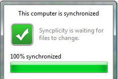 Syncplicity Keeps Data in Check Across Computers