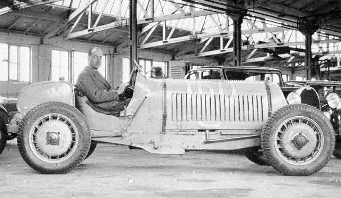 The 4-Wheel Drive Bugatti - 1932 Type 53