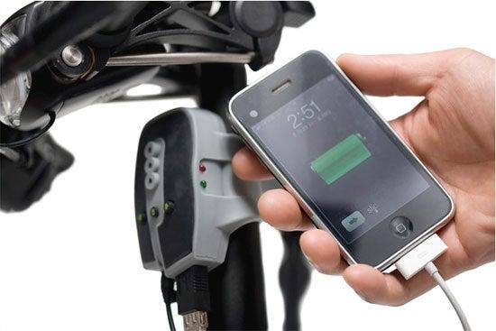 BioLogic FreeCharge Powers an iPod With Your Bike