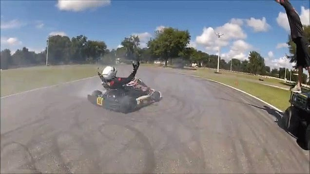Here Is The Ultimate Go Kart Drift Session