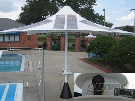 Powerbrella to Bridge the Gap Between Nerds and Sunlight