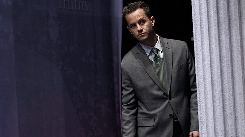 Kirk Cameron Opens His Mouth Just Wide Enough to Accommodate His Stinky Foot
