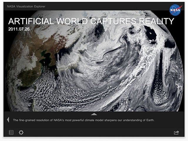 NASA Visualization Explorer App Brings Science To Your iPad
