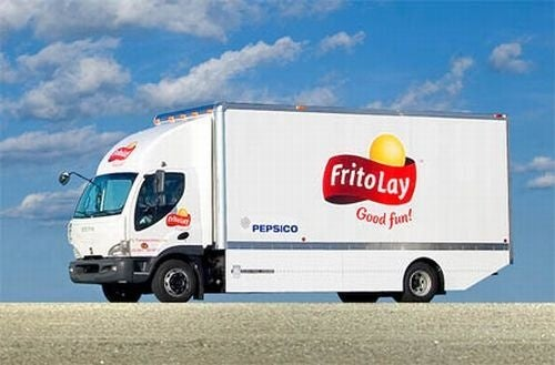 Frito Lay Electric Trucks Reduce Doritos Footprint