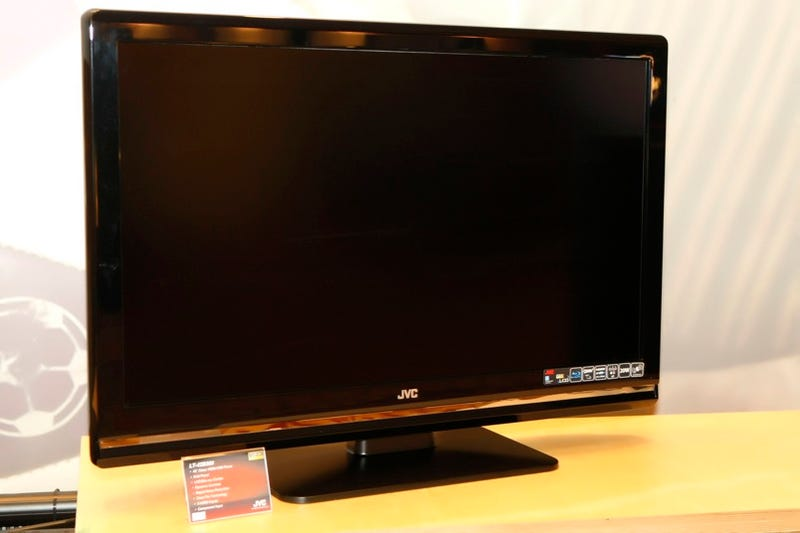 JVC's 42-inch LCD HDTV with Built-In Blu-ray Player Reminds Me of Something…