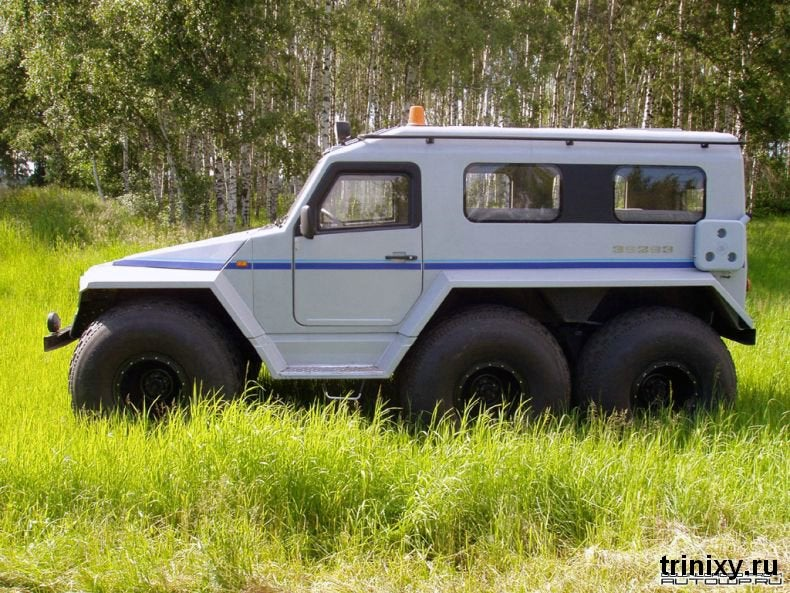 Russian Police Get All-Terrain Pursuit Trucks