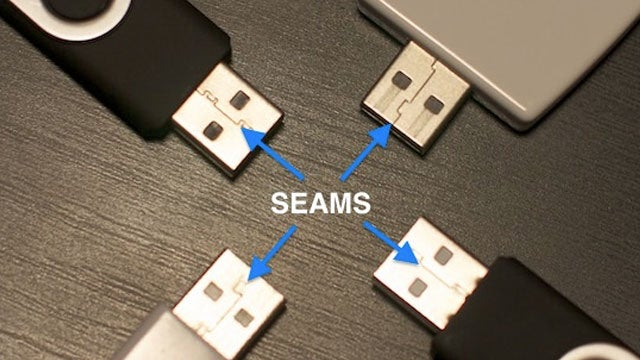 Plug in a USB Cable The Right Way (The First Time, Every Time) by Looking at The Seam