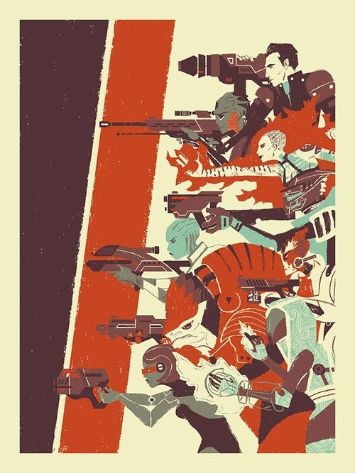 Leave Nobody Behind With This Awesome Mass Effect 3 Print