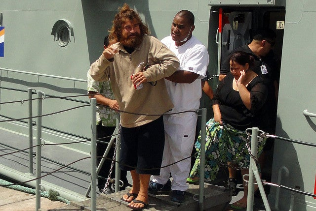 Real-life castaway says he spent 13 months adrift in the Pacific Ocean