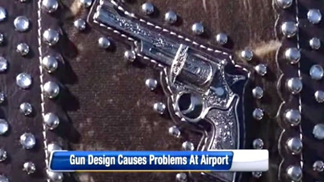 TSA Now Protecting Us From Gun-Shaped Purse Decorations