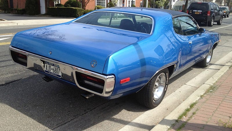 This Blue Plymouth Road Runner Makes Me Want To Go Fast