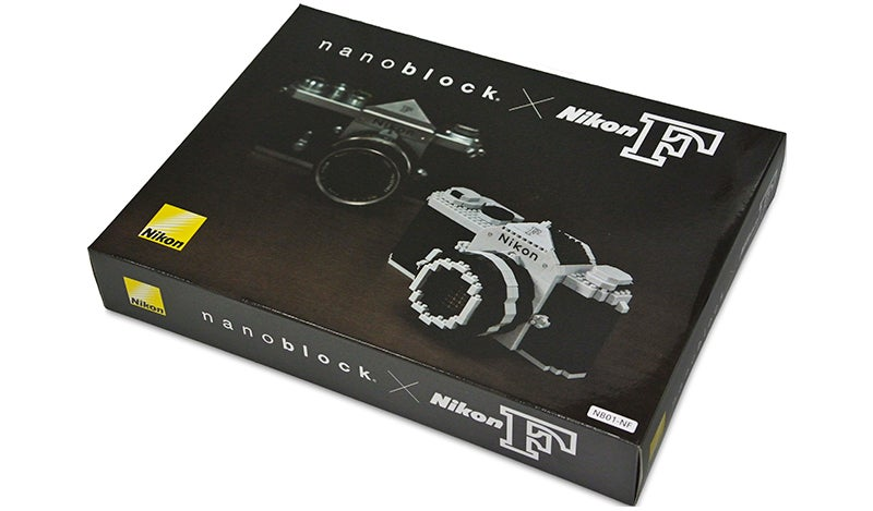 Build Nikon's Very First SLR With This New Nanoblocks Set