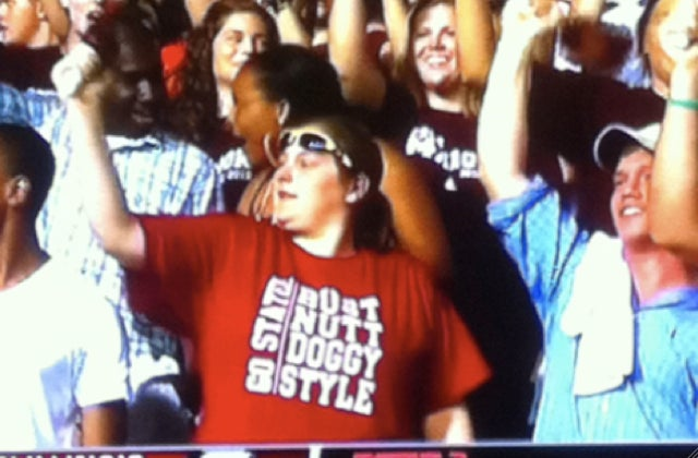 Mississippi State Football Fans Make Up For Spelling Deficiencies With Classy T-Shirts